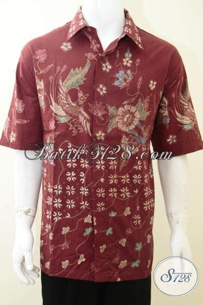 Baju Ukuran Besar Pria Baju Batik Merah Pria Berbadan Gemuk Besar Ukuran