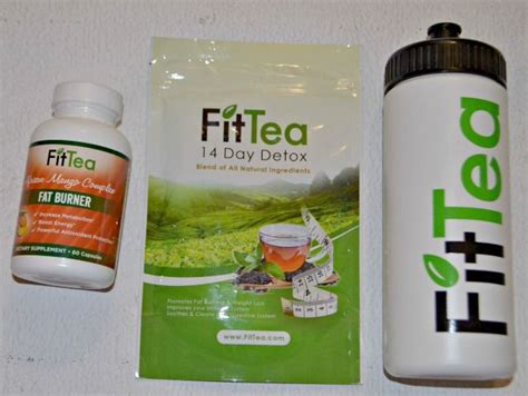 Best Detox Drink Fittea by Fit Tea 14 Day Detox Tea And Burner Supplement