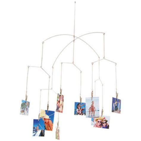 photo hanging wire kikkerland phot clip hanging mobile available on the