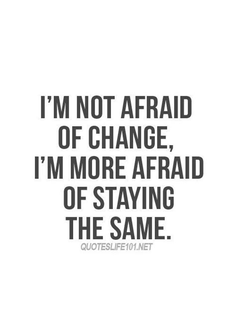 Allen Im Not A by I M Not Afraid Of Change Frases