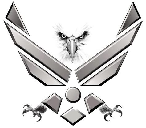 air force symbol tattoo designs air symbol thread help with patriotic