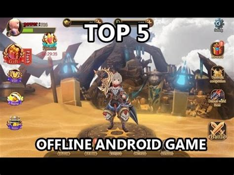 game mod android offlinr top 5 offline android game 2016 1 youtube