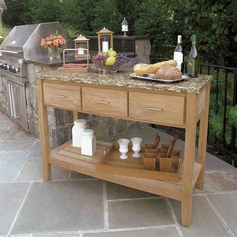 Outdoor buffet cabinet home furniture design