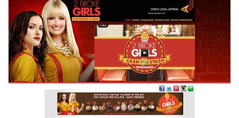 2 Broke Girls Sweepstakes - 2brokegirlsweeknights com 2 broke girls cash stash sweepstakes win 10 000 cash