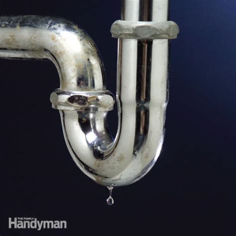 Fixing Leaking Kitchen Faucet by The Top 10 Plumbing Fixes Family Handyman