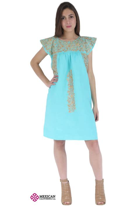 Dress Maxco by Mexican Embroidered Dresses