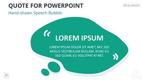 Powerpoint Templates For Quotes Showeet Com Speech Powerpoint Template