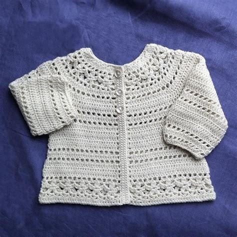 cardigan pattern crochet baby gina floral lace baby child cardigan crochet pattern by