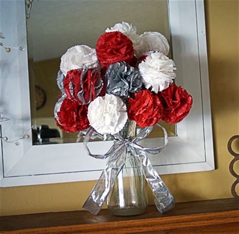 How To Make A Tissue Paper Flower Bouquet - tissue paper flowers bouquet