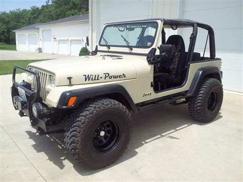 jeep wrangler tires 1993 jeep wrangler yj tires and axles