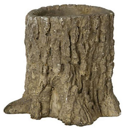 Tree Stump Planter Pot by Tree Trunk Pot Indoor Pots And Planters