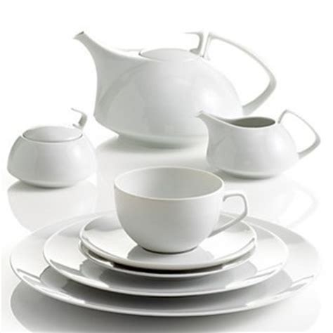 Gropius Teeservice by Rosenthal Tac White