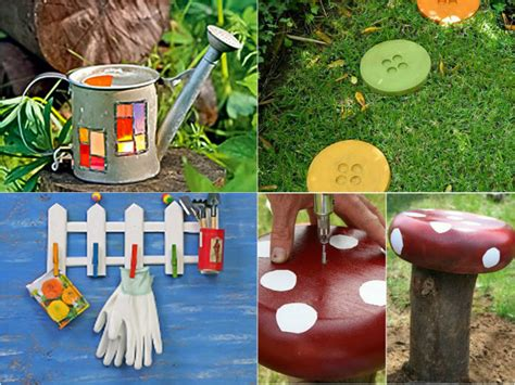 garden decoration ideas homemade diy garden decor ideas 6 projects for yard and patio