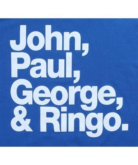Paul George Ringo Shirts beatles paul george ringo t shirt