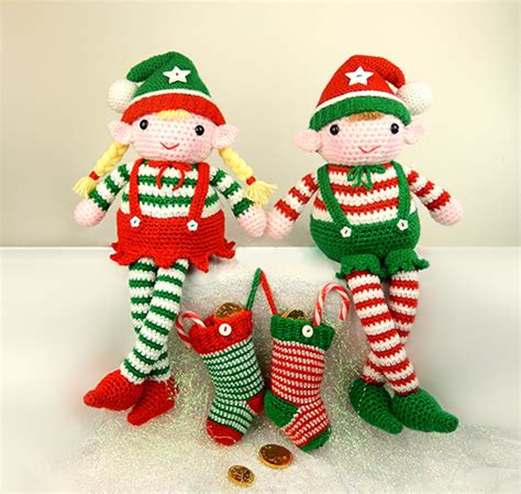 amigurumi elf pattern evie and elvis the christmas elves amigurumi pattern