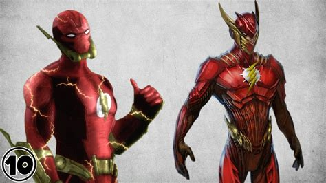 best flash top 10 alternate flash suits