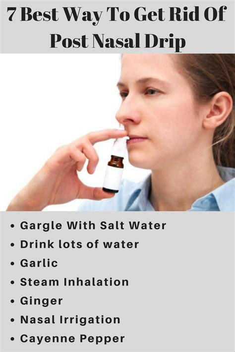 7 Best Ways To Get A To Like You by 7 Best Way To Get Rid Post Nasal Drip Health Plan