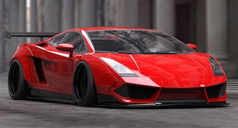 Lamborghini Gallardo Liberty Walk S Treatment Of The Lamborghini Gallardo Is