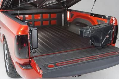 exterior truck bed accessories tool & storage boxes