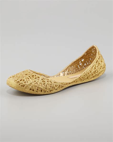 gold glitter flat shoes image gallery jelly shoes gold