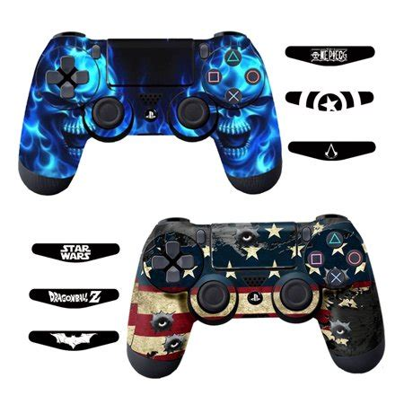 Ps4 Controller With Stickers by Skins For Ps4 Controller Decals For Playstation 4 Games
