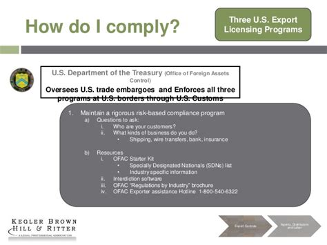 supplement 1 to part 774 of the ear exporting from the united states key considerations