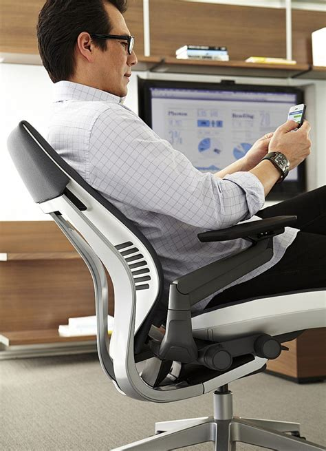 steelcase gesture chair adjustments steelcase s gesture chair designed to support today s