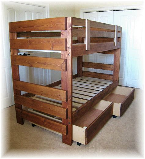 bunk bed plans  bed plans diy blueprints