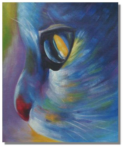 cat painting designs easy painting the piano cold color