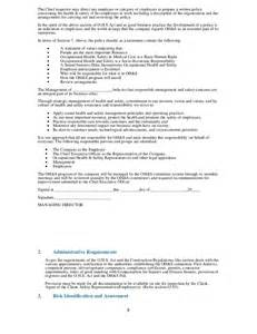 appointment letter health and safety representatives health and safety plan generic our products amp seminars