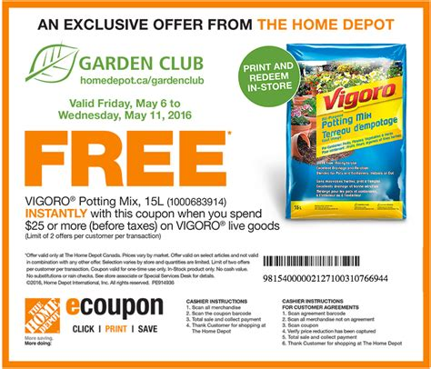 coupons for home depot printable 2018 freebies