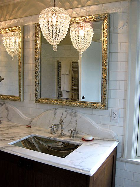 bathroom chandelier lighting ideas bathroom chandelier home design ideas pictures remodel