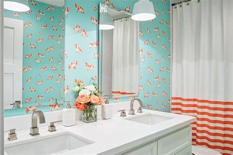 blue and orange bathroom turquoise blue and orange kids bathroom turquoise blue and