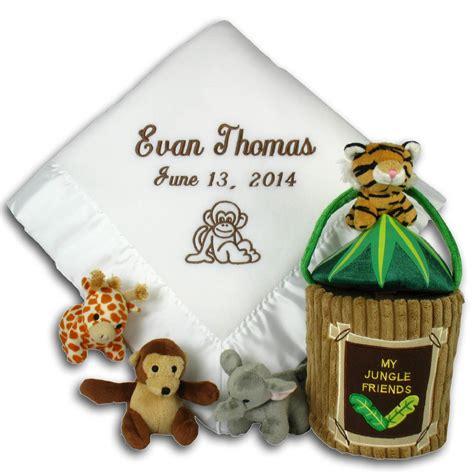 Gift Set Baju Bayi Kiddy Animal Baby Set Kado Kupluk Booties my jungle friends baby gift set