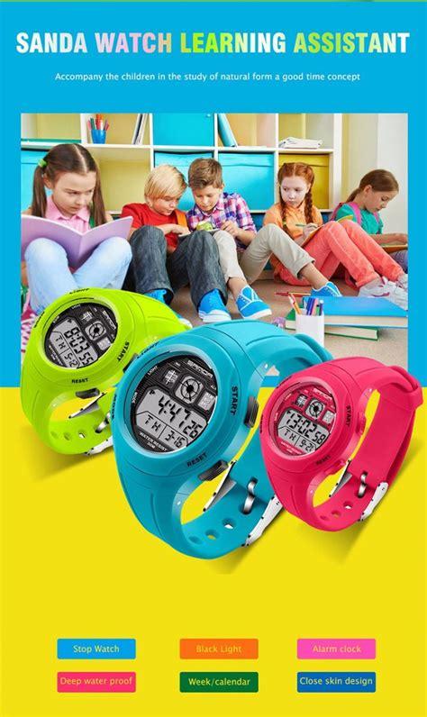 Jam Tangan Anak Remaja G Shock Sporty Shock Resist G Mix Baru Keren sanda jam tangan sporty anak sd 331 blue