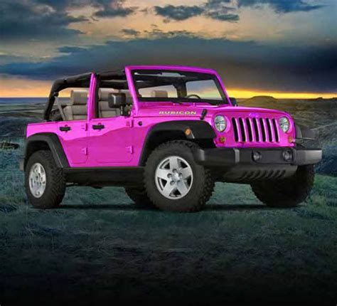 pink jeep pink jeep http iseecars com used cars used jeep for