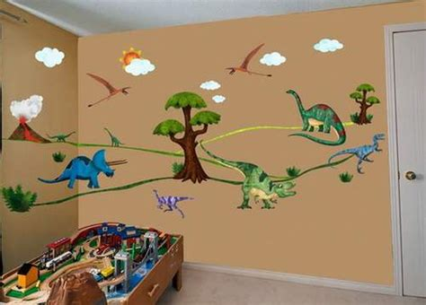 dinosaur bedroom wall stickers dinosaur bedroom stickers fun and scary for kids bedroom