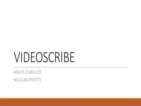 videoscribe authorstream
