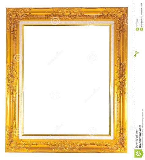 cornice dorata cornice dorata immagine stock immagine 30561091