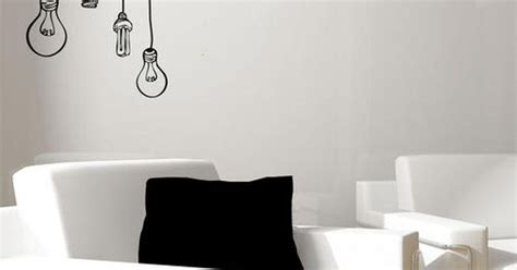 Hanging A Picture Hanging Lightbulbs Vinyl Wall Art Www Utique Co Za