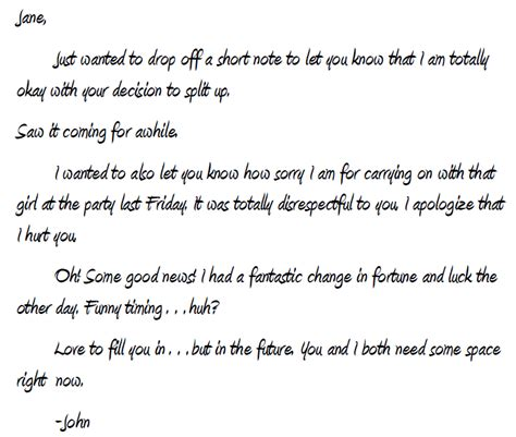 Apology Letter To Boyfriend After Lying How To Write A Handwritten Apology Written To Get Your Ex