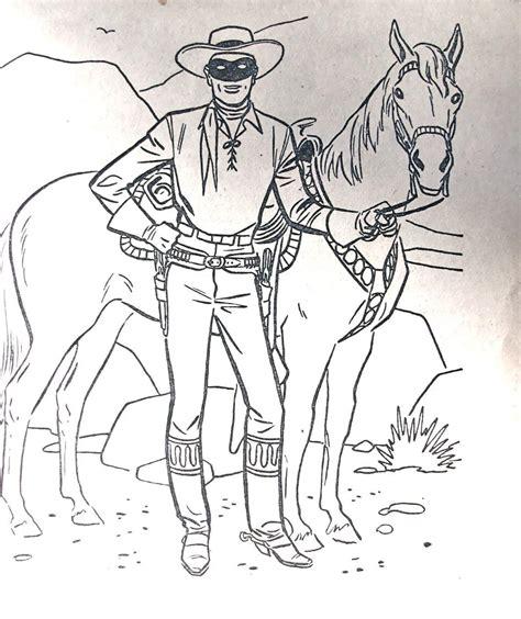 lone ranger coloring books set of 6 in original box