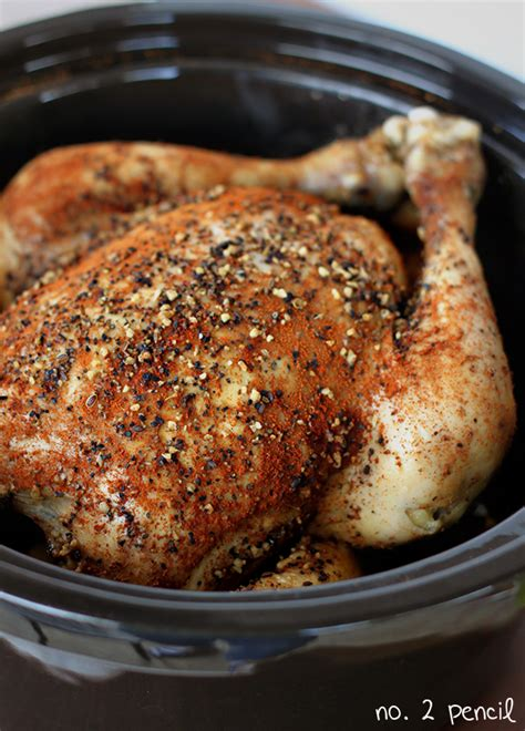 slow cooker whole chicken frozen