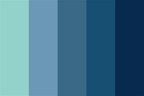 the sea colors afternoon sea color palette