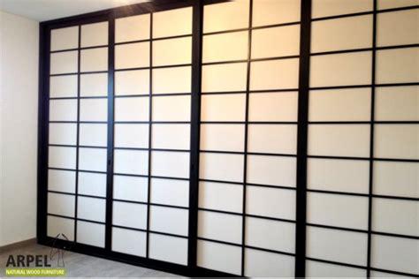 porte scorrevoli stile giapponese pareti scorrevoli giapponesi vendita mobili giapponesi
