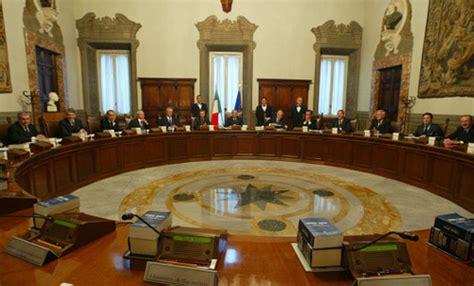 consiglio dei ministri italia consiglio dei ministri nominati i nuovi commissari per il