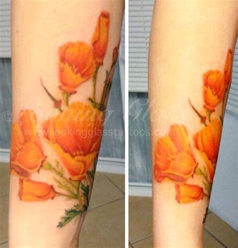 looking glass tattoo poppy by looking glass tattoos brick nj