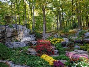 Cottage Style Bedroom Furniture beautiful flower gardens waterfalls kyprisnews