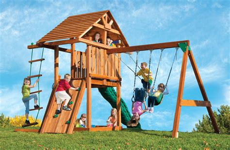 swing sets with sandbox the circus outdoor swing set with slide sandbox rockwall