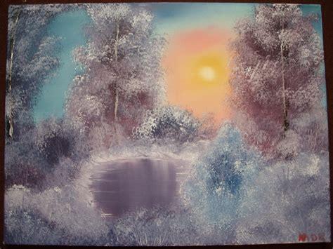 bob ross painting style painting bob ross style by keitarosan86 on deviantart